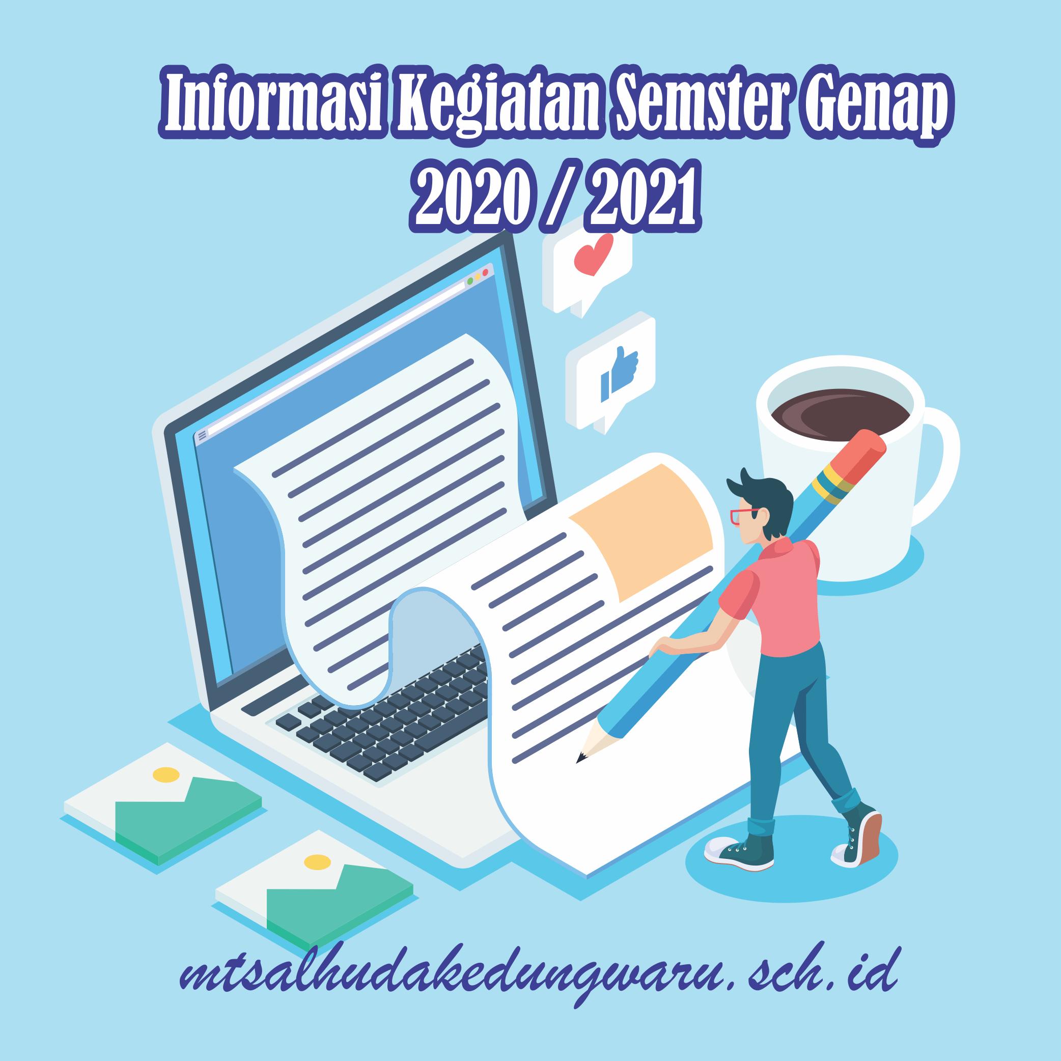 Informasi PAT dan Kegiatan Lain Semester Genap 2020/2021